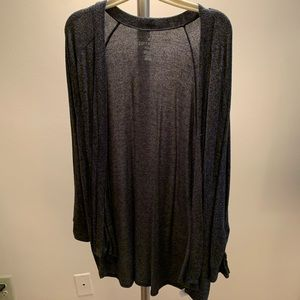 AE Grey Knit Cardigan Size M